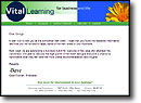 Stationery for Vital Learning Corporation